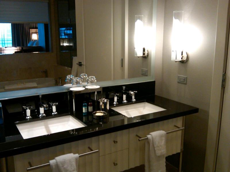 Bathroom Sinks Las Vegas the cosmpolitan of las vegas (las vegas, nevada) | porcelain press