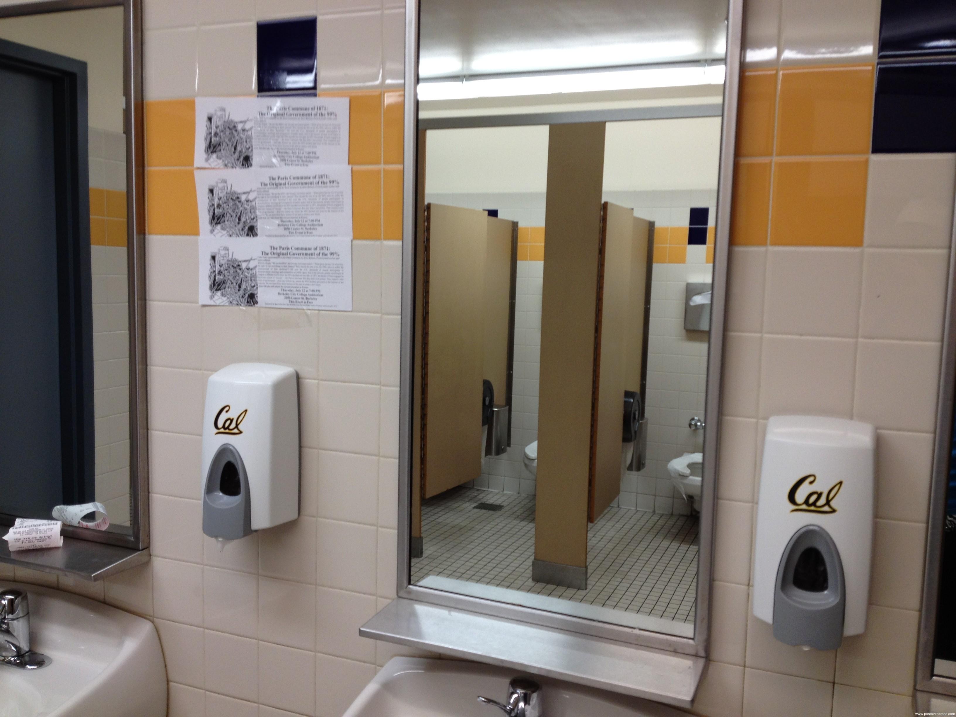 University Of California Berkeley Porcelain Press - Bathroom remodeling berkeley ca